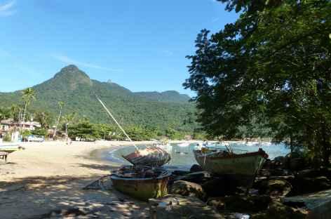 Village d'Abraao sur Ilha Grande - Brésil -