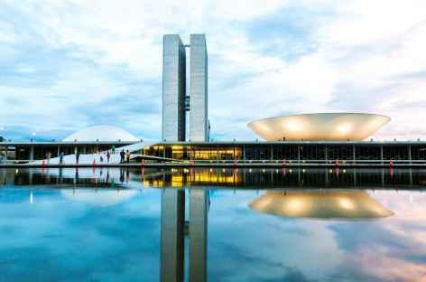 Brasilia de nuit - Brésil -