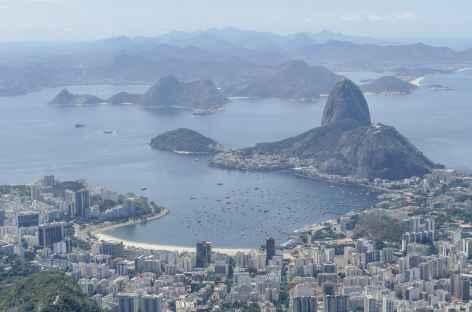 Rio de Janeiro, vue sur le pain de Sucre - Brésil -