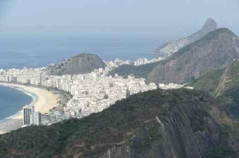 Rio de Janeiro, vue depuis le pain de Sucre - Brésil -