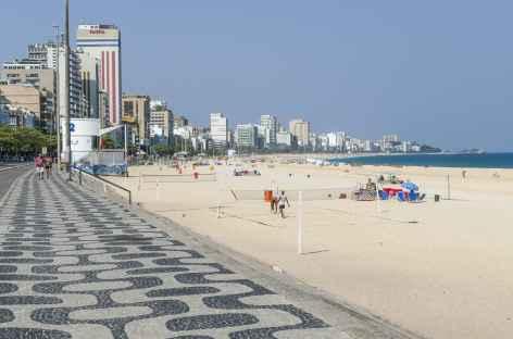 Rio de Janeiro, plage d'Ipanema -
