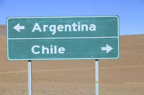 La Frontière Chili / Bolivie -