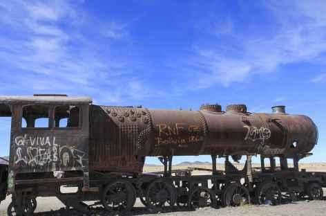 Cimetière des locomotives - Uyuni - Bolivie -