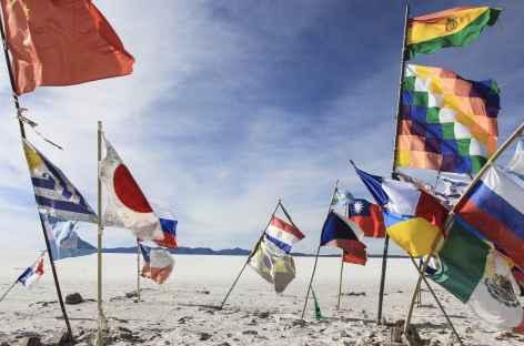 Musée de sel point de rencontre des nations - Uyuni - Bolivie -