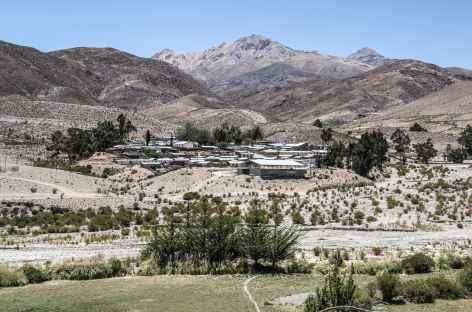 Un village sur la 'route des missions' - Chili -