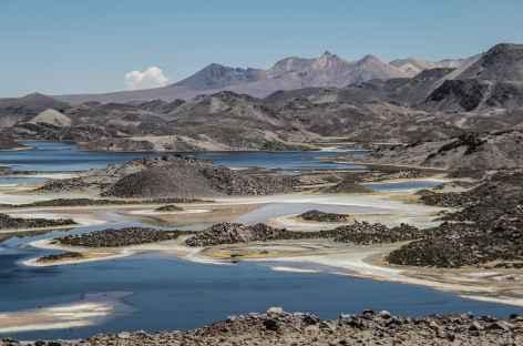 Randos à travers les lagunes Cotacotani - Chili -