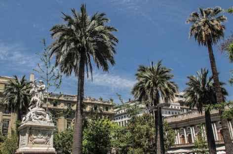 Santiago, la place d'Armes - Chili -