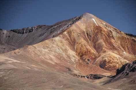 Volcans colorés dominant Suriplaza - Chili -