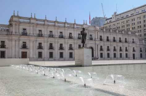 Santiago, le palais présidentiel de la Moneda - Chili -