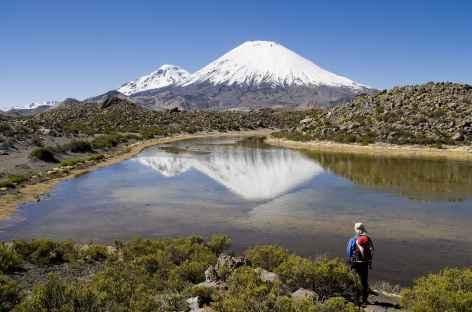 Le Parinacota depuis le Chili -