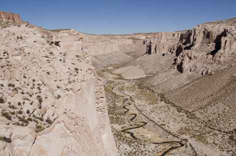 Canyon du belvedère - Bolivie -