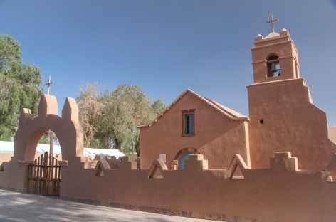 L'église de San Pedro de Atacama - Chili -