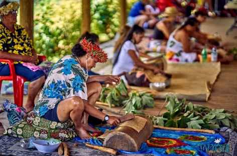 Préparatifs Tapati -