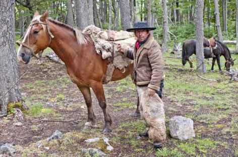 Rencontre avec un gaucho - Chili -