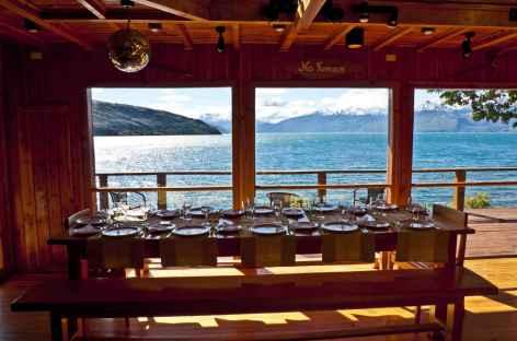 Notre lodge de charme au bord du lac General Carrera - Chili -