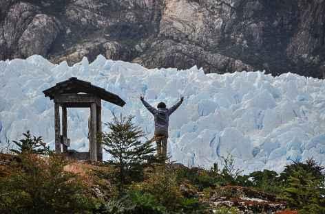 La langue glaciaire du San Rafael - Chili -