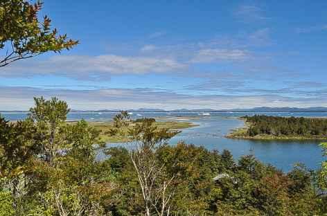 Paysage autour de la laguna San Rafael - Chili -
