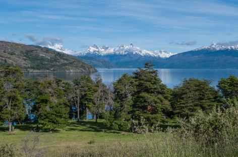 Magnifique panorama depuis notre lodge - Chili -