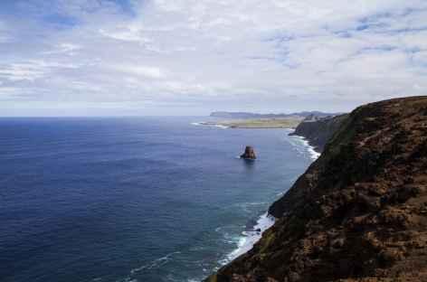 Poike en direction de Ahu Tongariki Île de Pâques -
