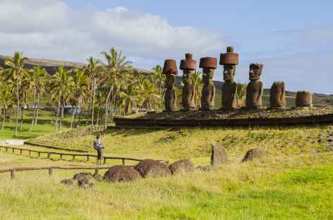 Ile de Pâques, Ahu Nau Nau - Chili -