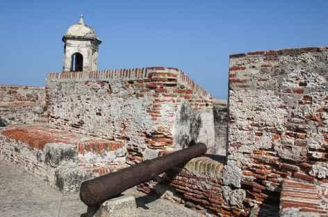 Carthagène, le château San Felipe - Colombie -