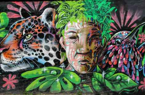 Street art à Bogota - Colombie -