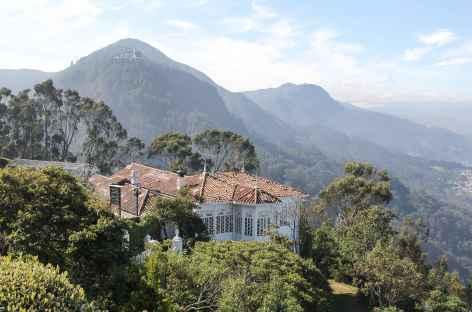 Bogota, vue depuis la colline de Montserrate - Colombie -