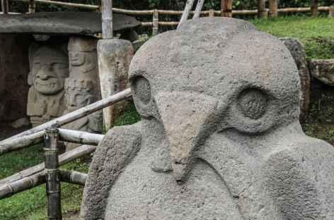 Site archéologique de san Agustin - Colombie -