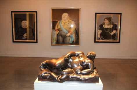 Medellin, le musée Antioquia - Colombie -