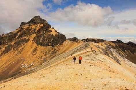 Au sommet du paramillo del Quindio - Colombie -