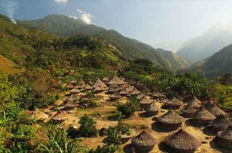 Village kogui dans la Sierra Nevada de Santa Marta - Colombie -