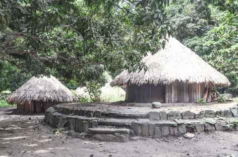 Le site précolombien de Pueblito dans le parc national Tayrona - Colombie -