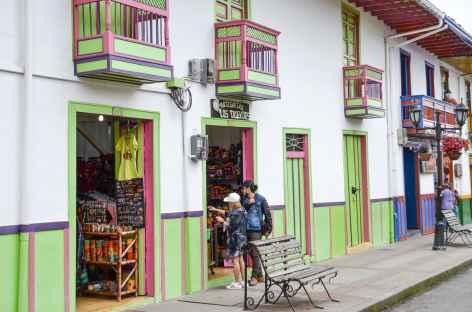 Balade dans le village de Salento - Colombie -