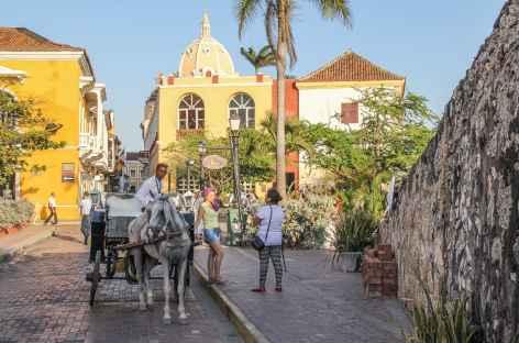 La ville coloniale de Carthagène - Colombie -