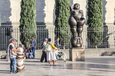 La place des sculptures à Medellin - Colombie -