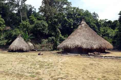 Parc national de Tayrona, le village indien de Pueblito - Colombie -