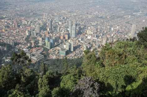 Bogota depuis la colline Montserrate - Colombie -
