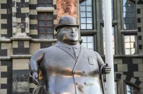 Statue de Botero à Medellin - Colombie -