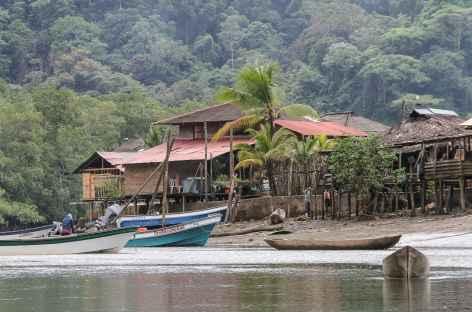 Village afro au bord du Pacifique - Colombie -