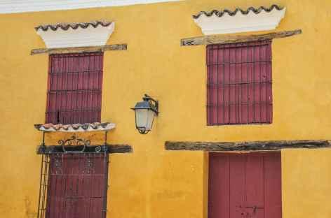 Façade colorée de Mompox - Colombie -