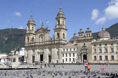 Plaza Bolivar à Bogota - Colombie -