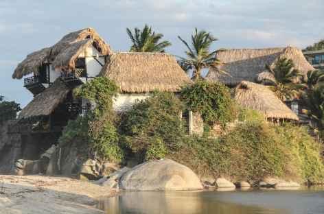 Notre lodge aux portes du parc national de Tayrona - Colombie -