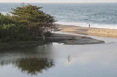 Bord de mer dans le parc national Tayrona - Colombie -