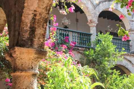 Visite d'un couvent à Carthagène - Colombie -
