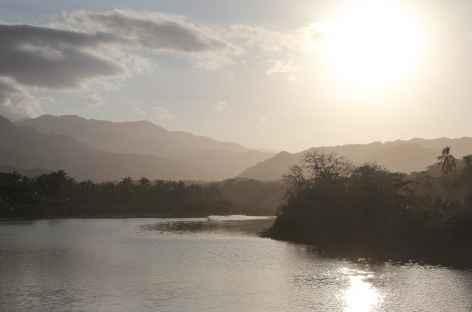 Coucher de soleil dans le parc national Tayrona - Colombie - Colombie -