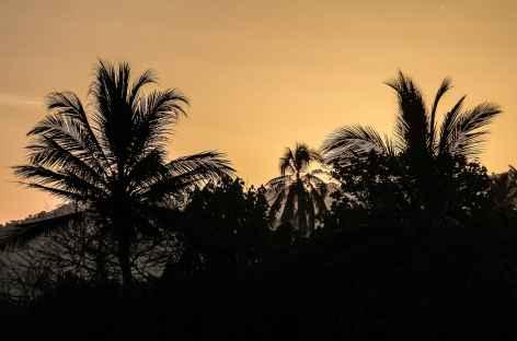 Coucher de soleil sur les Caraïbes - Colombie -