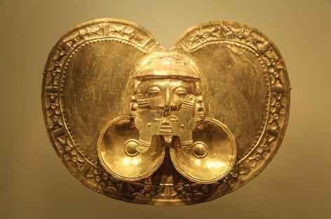 Une pièce du musée de l'or à Bogota - Colombie -
