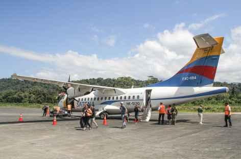 Arrivée sur la côte Pacifique - Colombie -