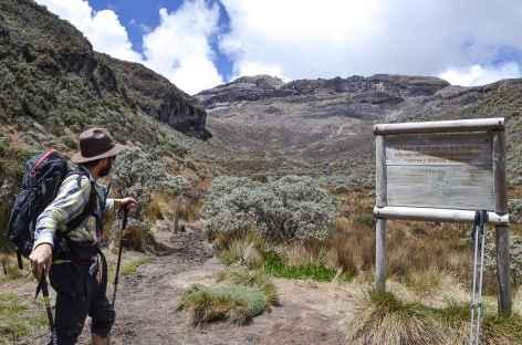Balade vers le volcan Ruiz - Colombie -