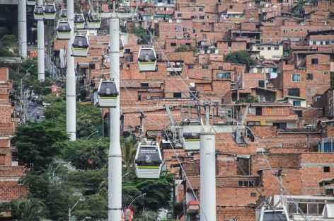 Medellin, balade en téléphérique - Colombie -